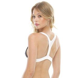 SKATIE Swim - NEW SKATIE Black White Kaz Top Daley Bottom Bikini